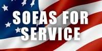 Sofas for Service Impact Award Recipient